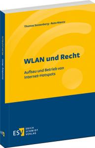 """Cover des Buches """"WLAN und Recht - Aufbau und Betrieb von Internet-Hotspots"""